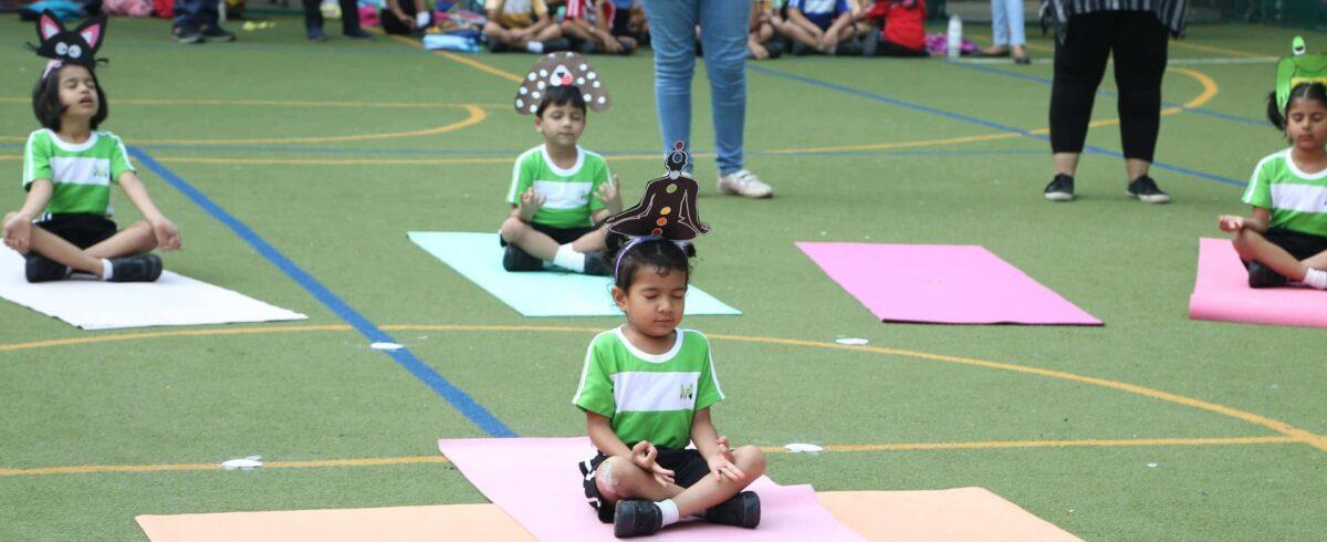 MBIS Yoga Activity